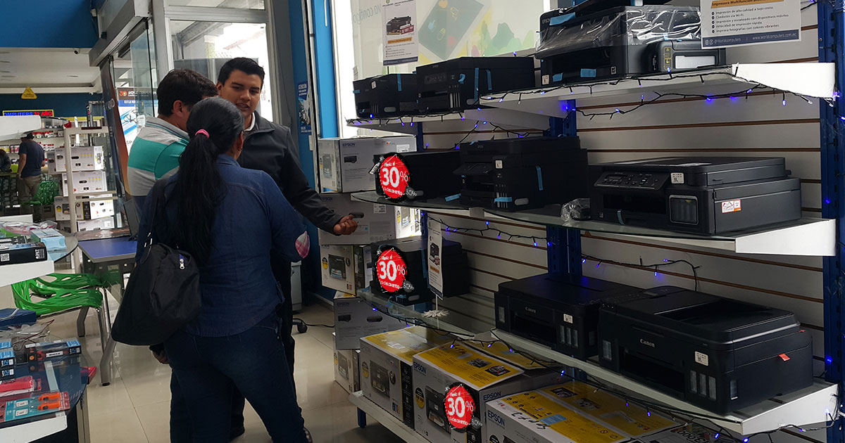 Black Friday y ciber Monday en world Computers