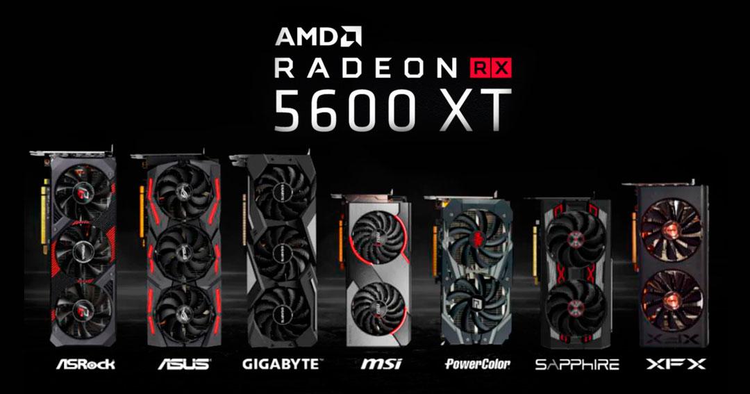 AMD Raedon RX 5600 XT