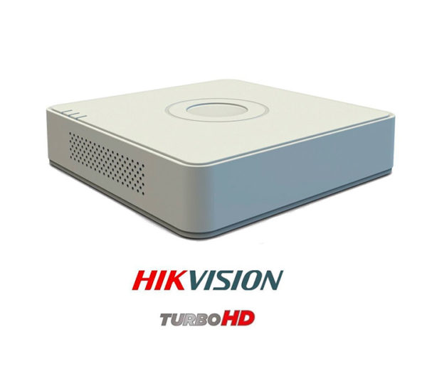 Dvr Hikvision 4 canales turbo HD