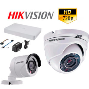 Kit de camaras de seguridad Hikvision