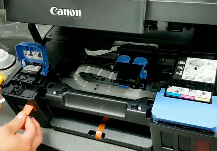 Manteniemiento y reparacion de impresoras