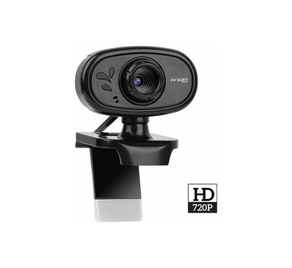Cámara web HD con micrófono incorporado