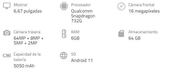 Especificaciones del Xiaomi Redmi Note 10 Pro